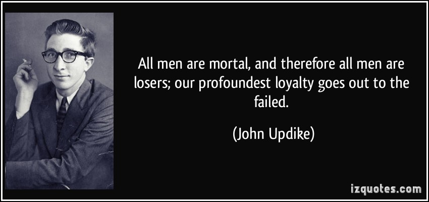 the life and works of john updike John updike is among the leading novelists of the late 20th century john mahoney, the cantankerous dad in his later life.