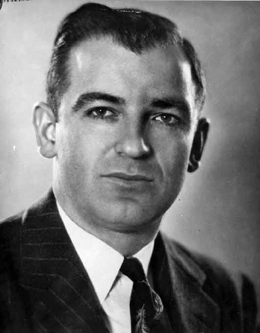 joseph mccarthy Early life joseph mccarthy was born to a poor irish catholic farm family in appleton, wisconsin a hyperactive, extroverted youth, he dropped out of school after eighth grade to start his own poultry business.
