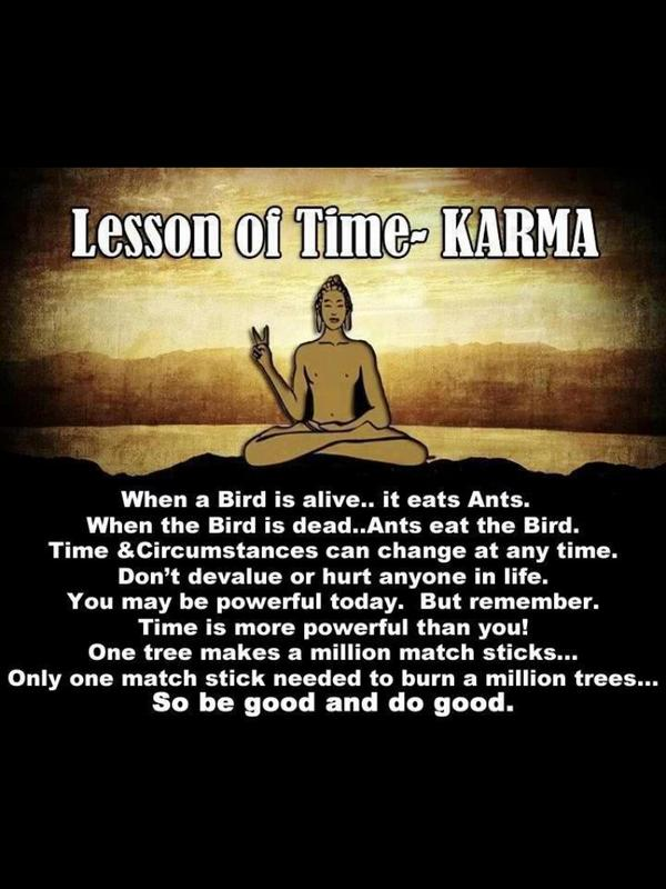 Quotes About Time And Karma 21 Quotes
