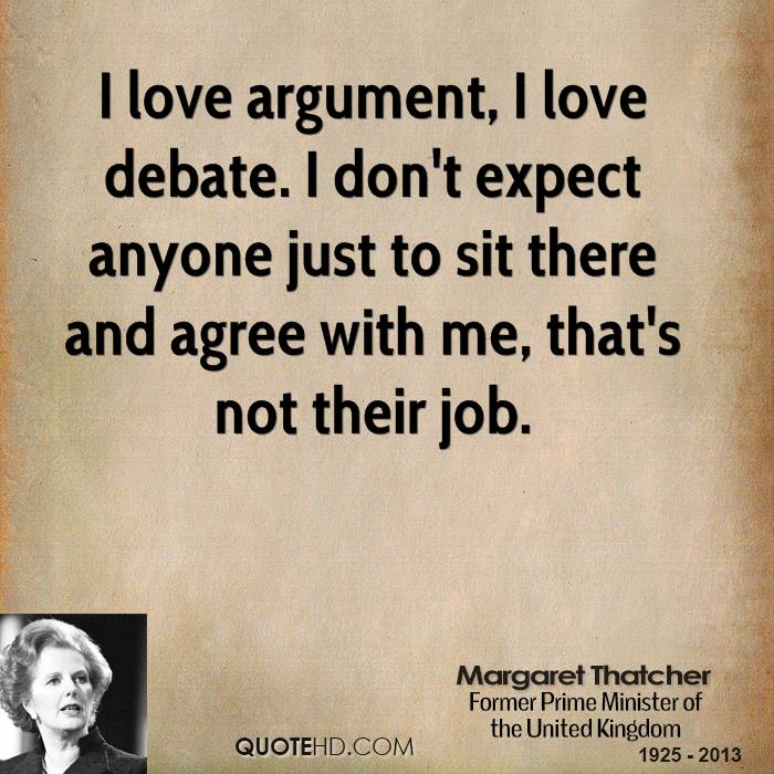 a criticism of margaret thatchers argument about there being no society A criticism of margaret thatcher's argument about there being no society there is no such thing as society there within margaret thatchers argument.