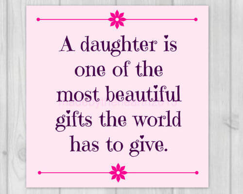 baby daughter quotes