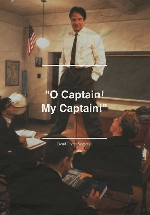 o captian my captain