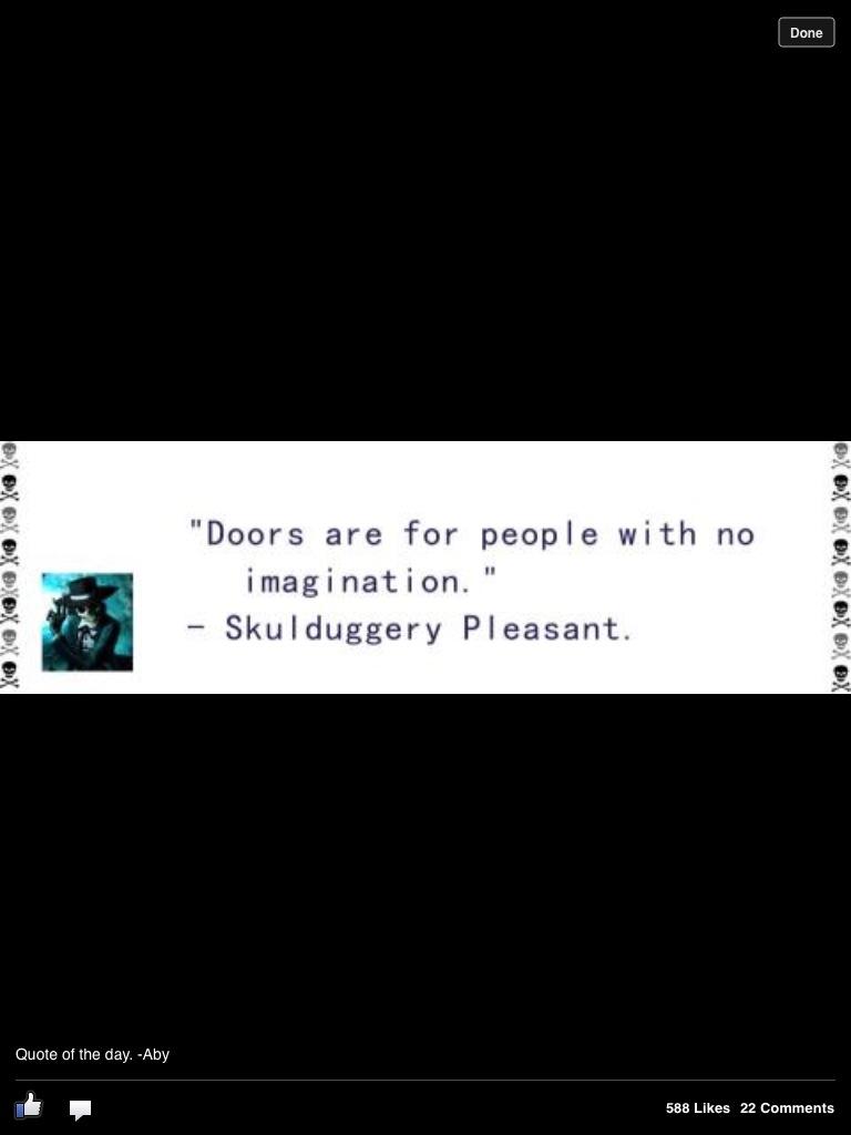 Skulduggery pleasant quotes