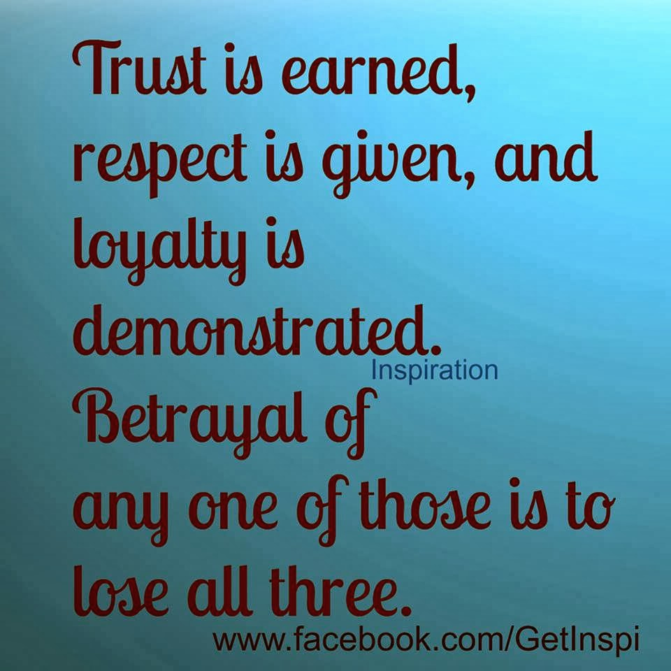 Quotes About Trust And Respect 89 Quotes