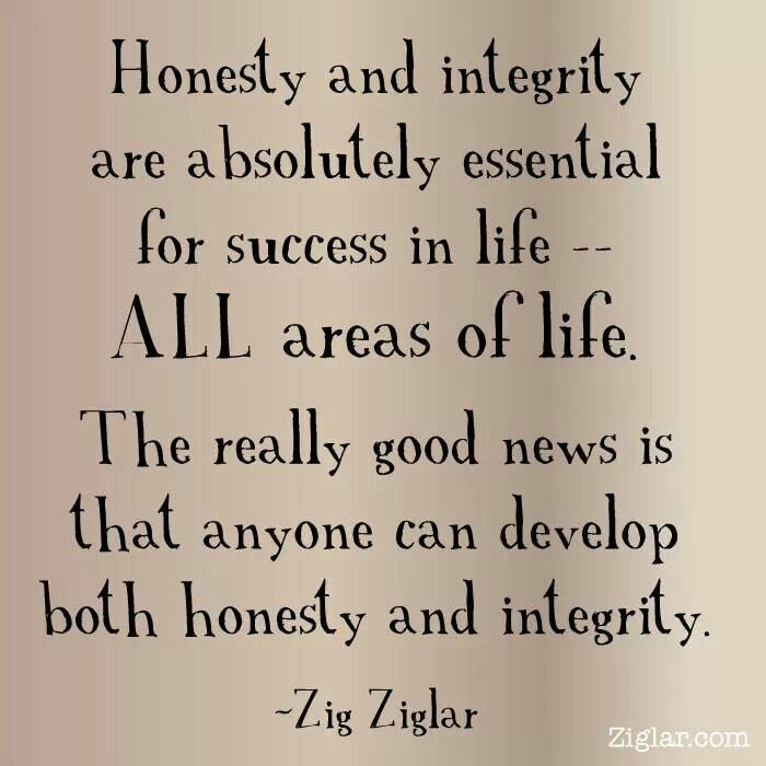 Honesty And Integrity Essay
