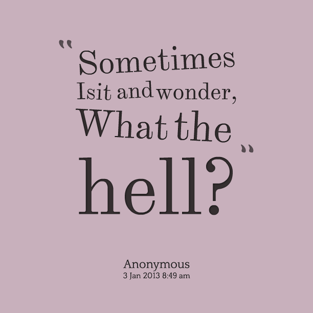 Quotes About Sometimes I Wonder 40 Quotes Stunning Wonder Quotes