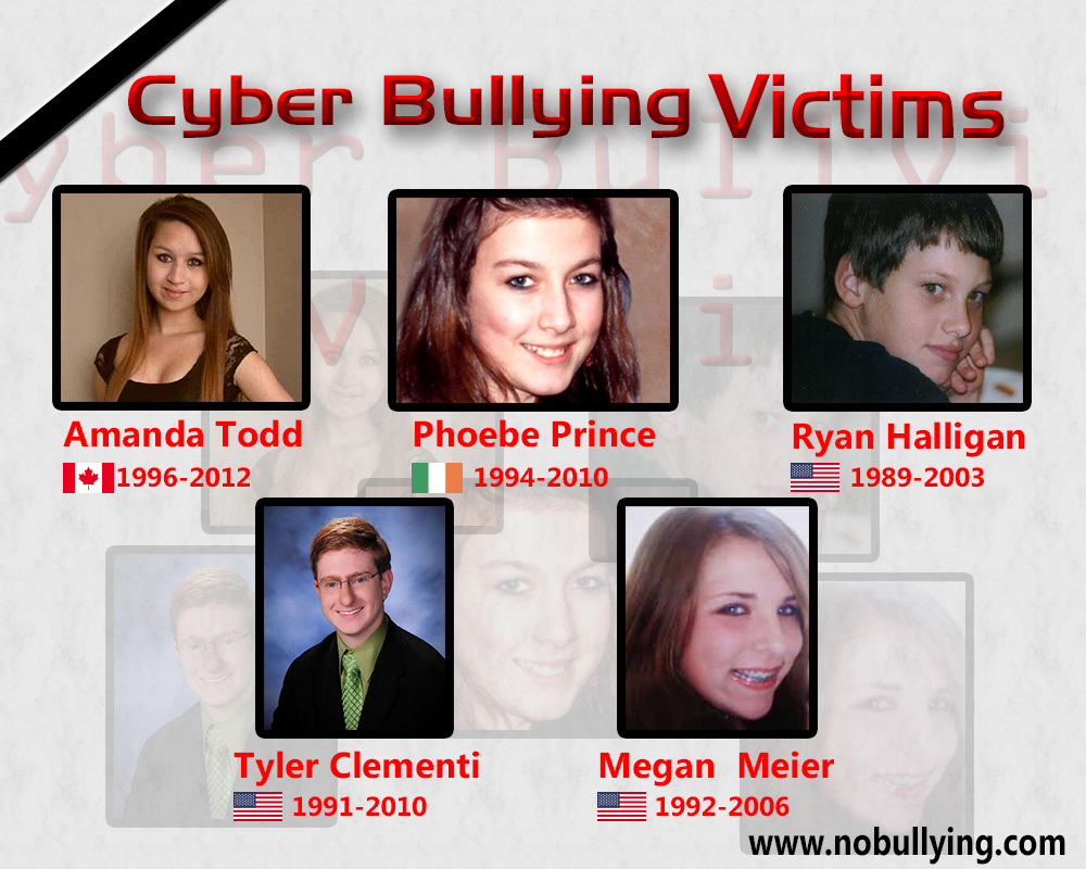 victims of bullying The scene of a candlelight vigil held at south hadley, mass, high school in january 2010, for phoebe prince since prince's death, daniel smith, the principal of the school where she attended has.