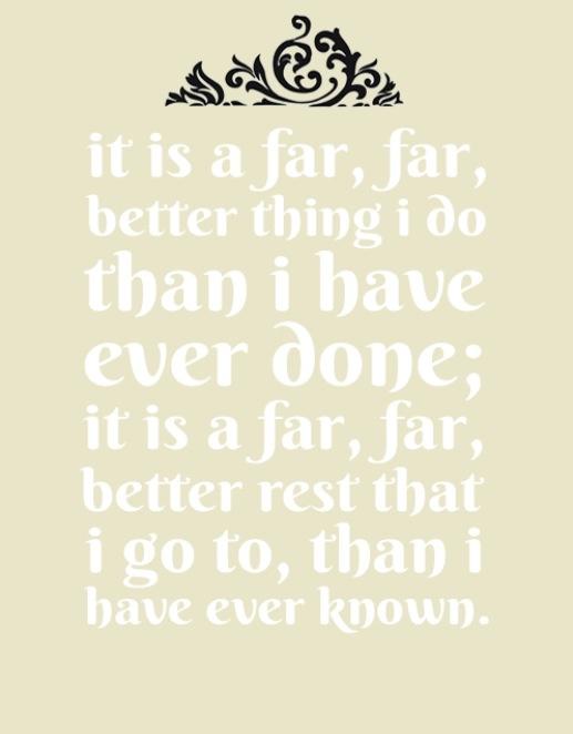 sydney carton quotes