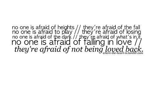 Attractive Quotes About Scared Of Heights