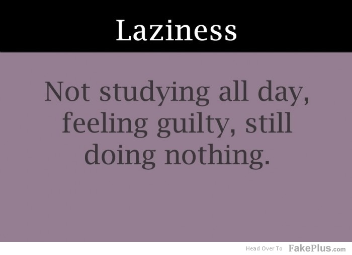 feeling guilty essay