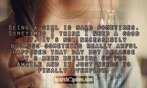 i need a good girl quotes