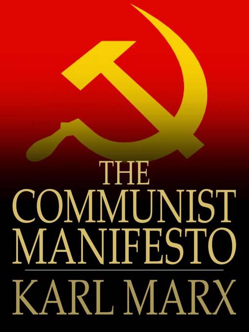 karl marx and friedrich engels the communist manifesto essay