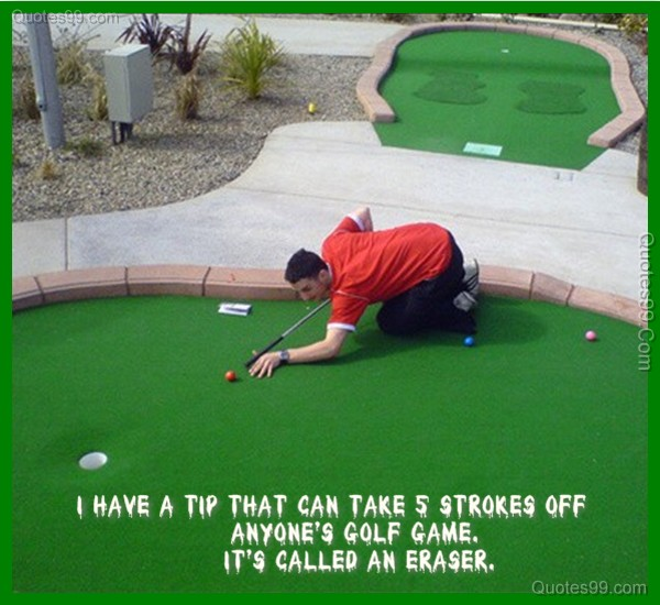 Funny Golf Quotes Stunning Quotes About Golf Game 48 Quotes
