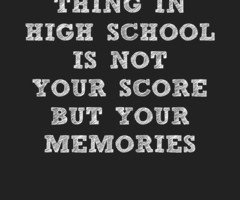 high school is not for everyone Third, not everyone is average a non-swimmer trying to cross a stream that on average is three feet deep might drown because part of the stream is seven feet in depth.