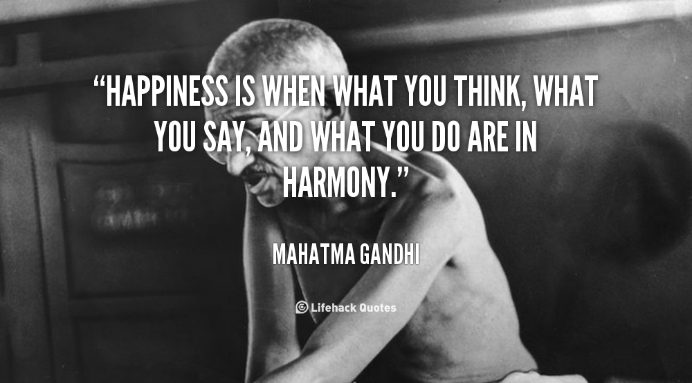 Quotes About Happiness Gandhi 23 Quotes