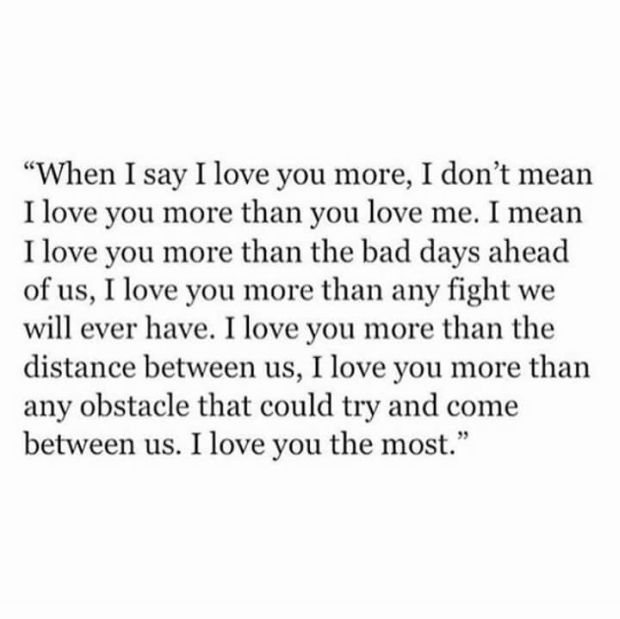 what to say other than i love you