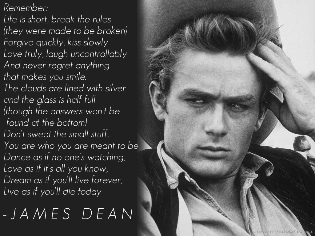 biography of james dean essay