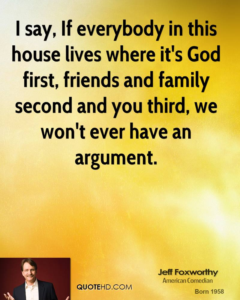 God First Family Second Quotes: Quotes About House Of God (81 Quotes