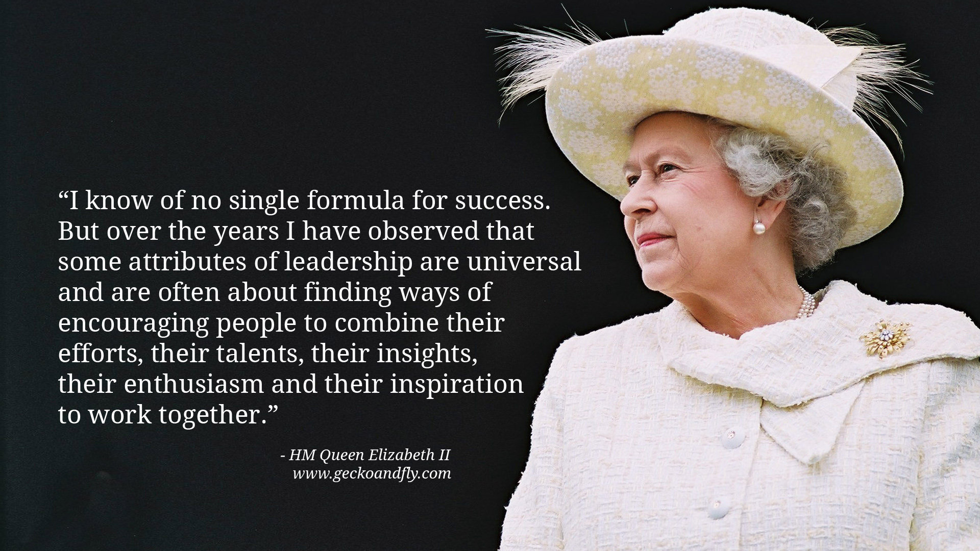 queen elizabeths characteristics of a leader Read cnn's fast facts about queen elizabeth ii and learn more mother queen elizabeth  group photo of world leaders attending the d-day.