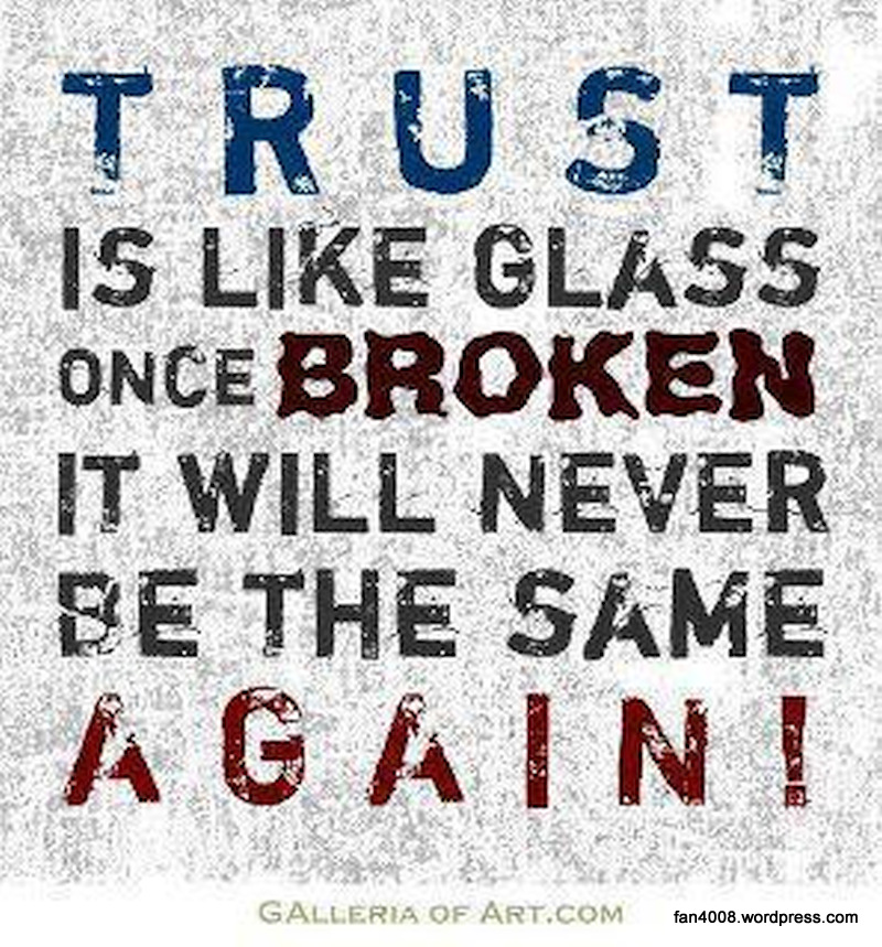 Quotes About Restoring Trust (49 Quotes