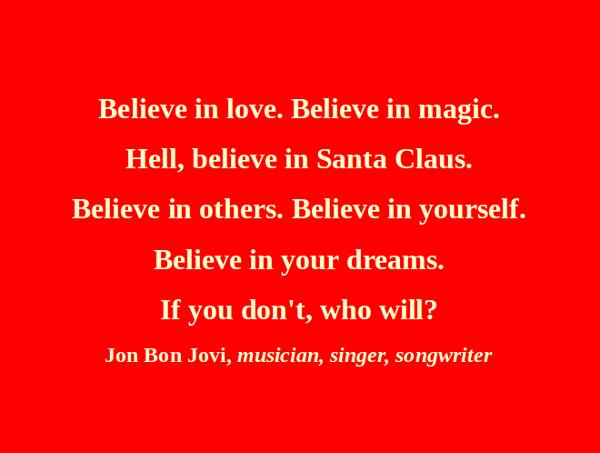 christmas believe quotes