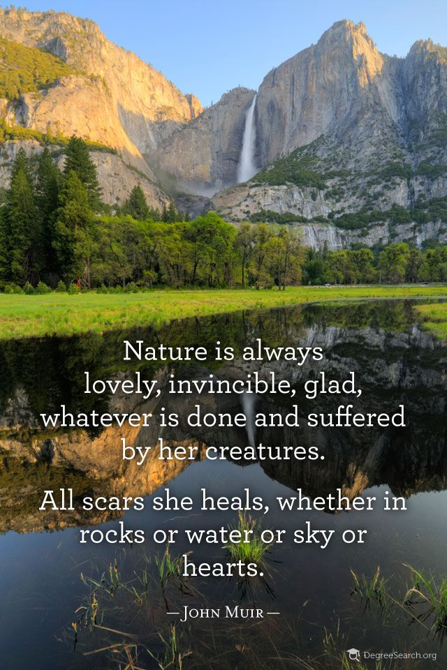 Quotes About Nature Muir 45 Quotes