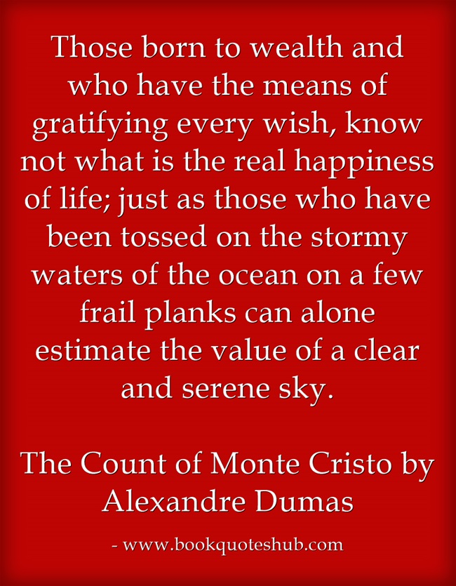 essay about the count of monte cristo The count of monte cristo the book by alexander dumas is a popular novel of love, envy, greed and revenge it is a story of an underdog who, because of his.