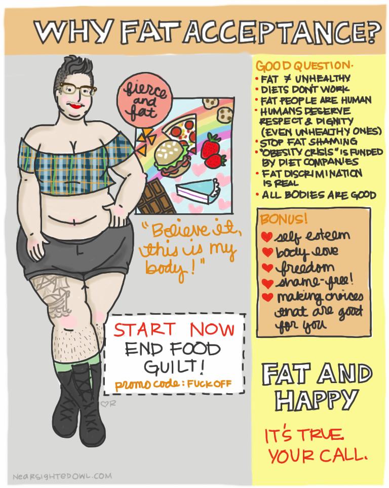 Fat people need love too