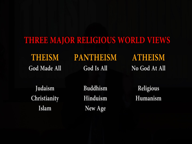 Pantheism vs christianity