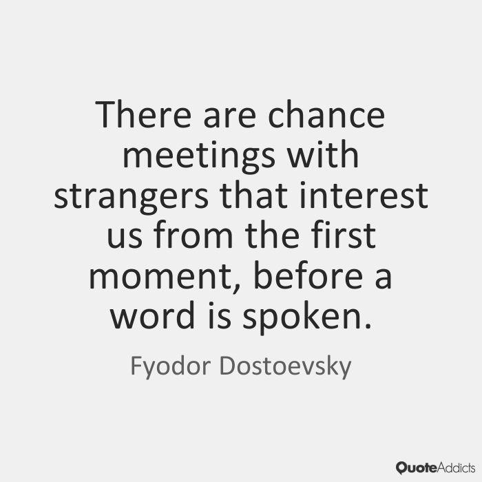 Quotes About Meeting A Stranger 60 Quotes Custom The Stranger Quotes