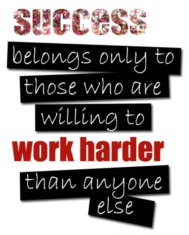 Quotes About Success And Hard Work 132 Quotes