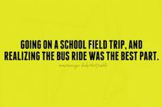 the school trip essay