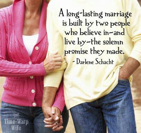 components to a lasting marriage