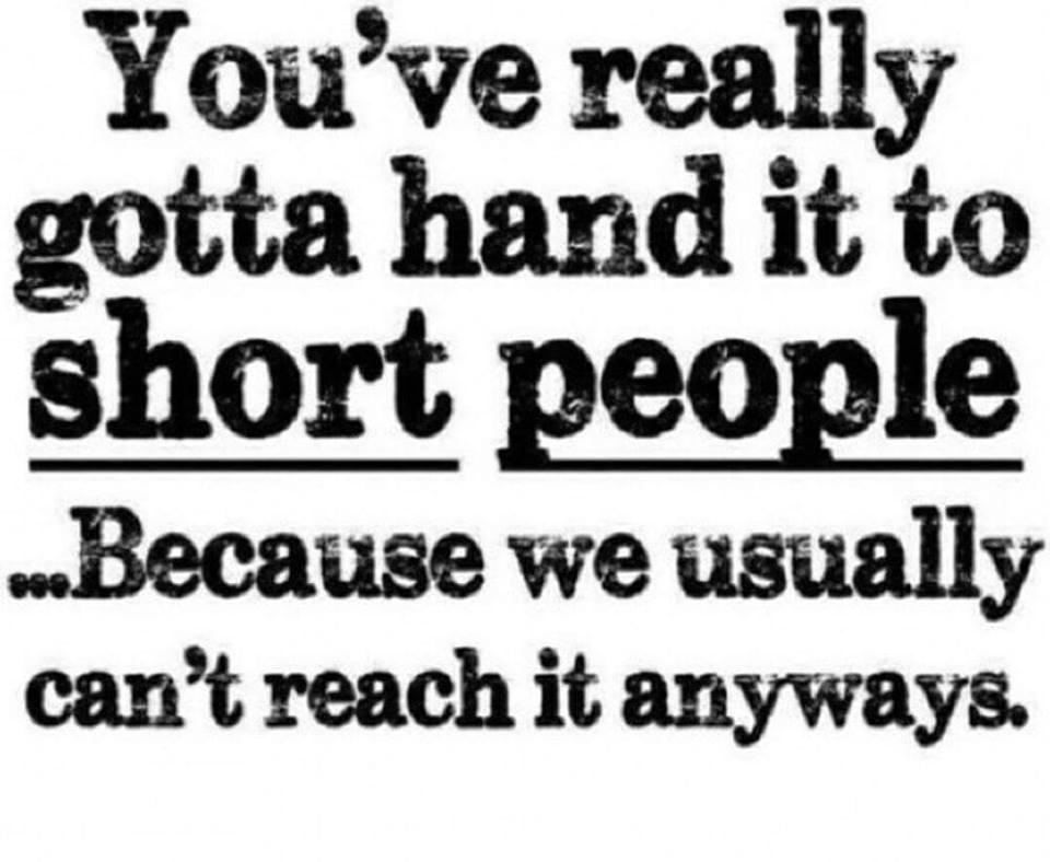 good short people jokes