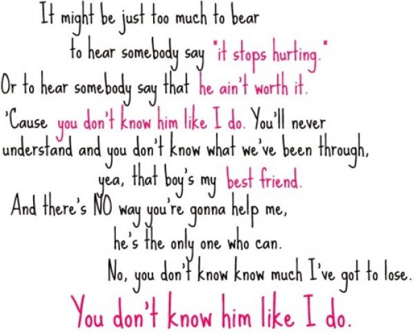 Quotes About Friendship Lyrics 61 Quotes