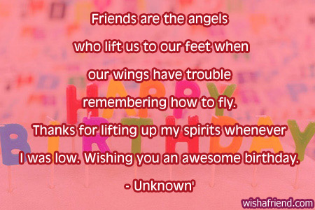 Quotes About Birthday Of A Friend 60 Quotes