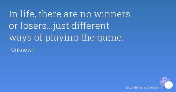 essayare you a winner or a loser