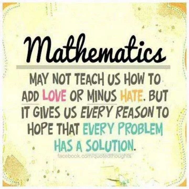 Quotes About Math In Life 50 Quotes