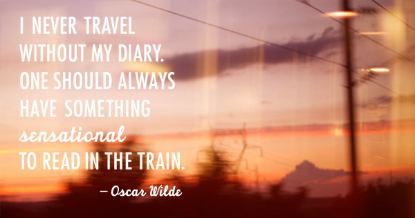 Quotes About Travel Oscar Wilde 21 Quotes