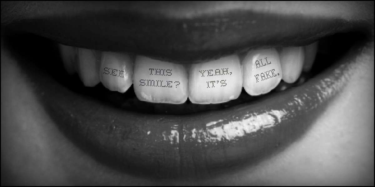 Quotes About Fake Smile 52 Quotes
