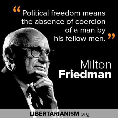 the contrasting views of milton friedman