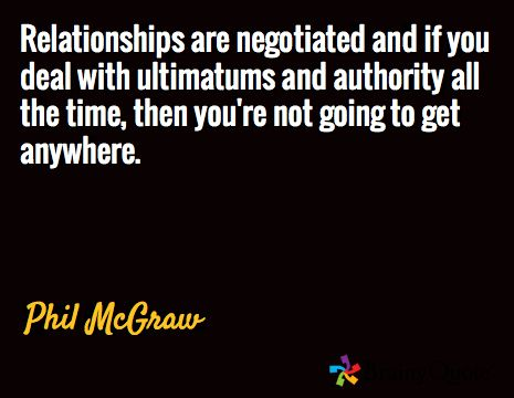 Ultimatums in relationships quotes