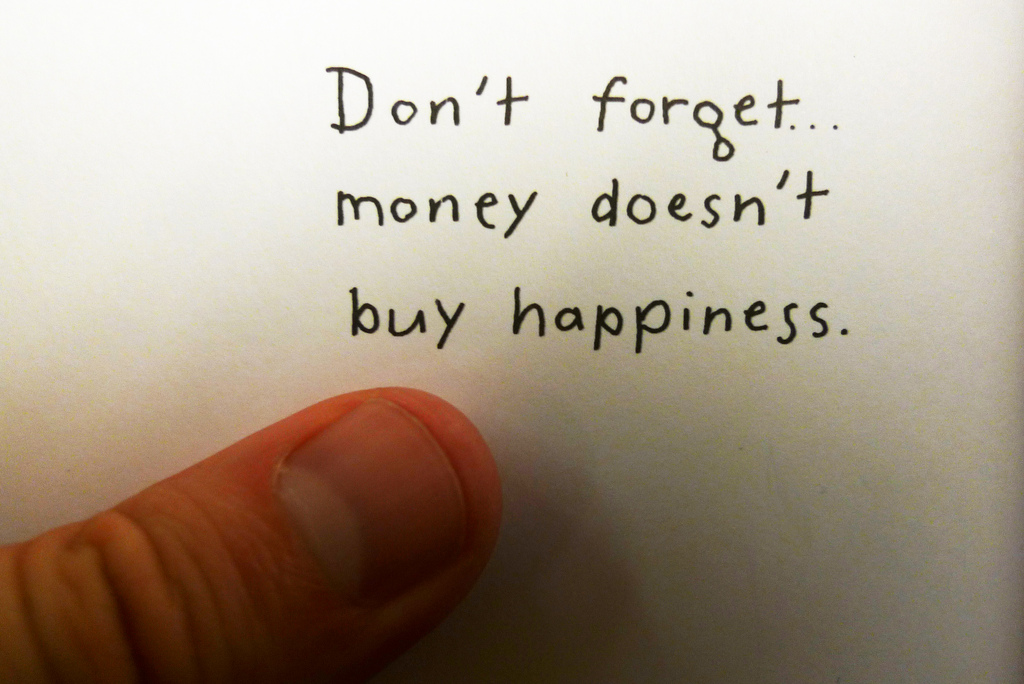 Buyis money everything in life