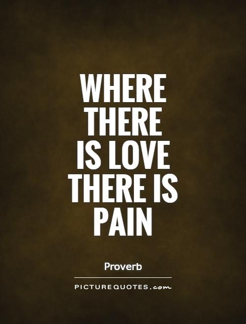 Quotes on painful love