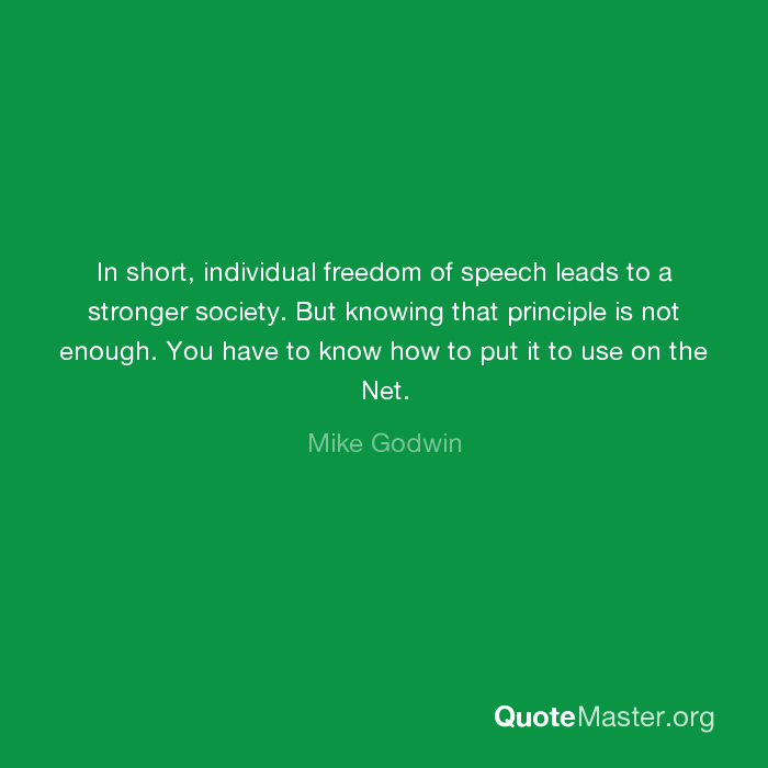 short speech about freedom