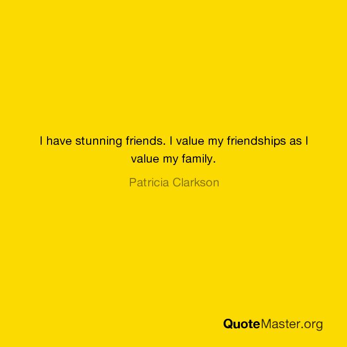 i value my family