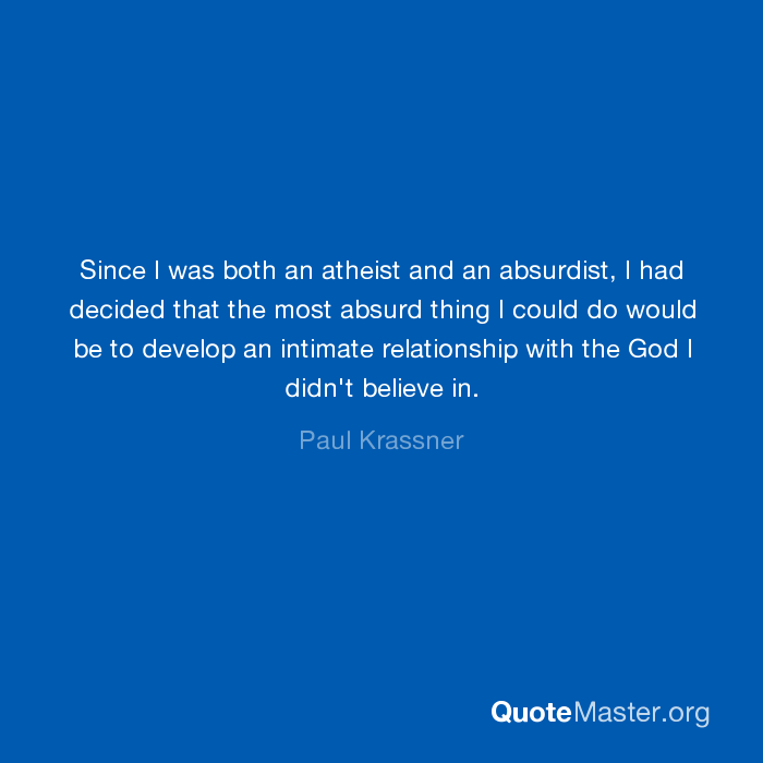 how do develop a relationship with god