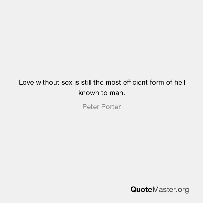 love without sex