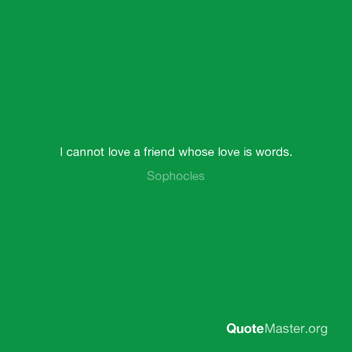 sophocles love