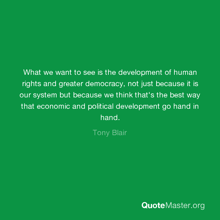 what is political development